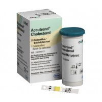 cholesterol teststrips accutrend plus